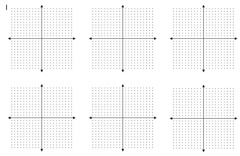 blank dotted graphs