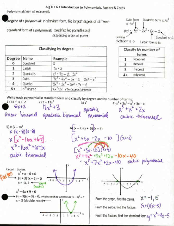graphing Insert Clever Math Pun Here – Graphing Polynomials Worksheet