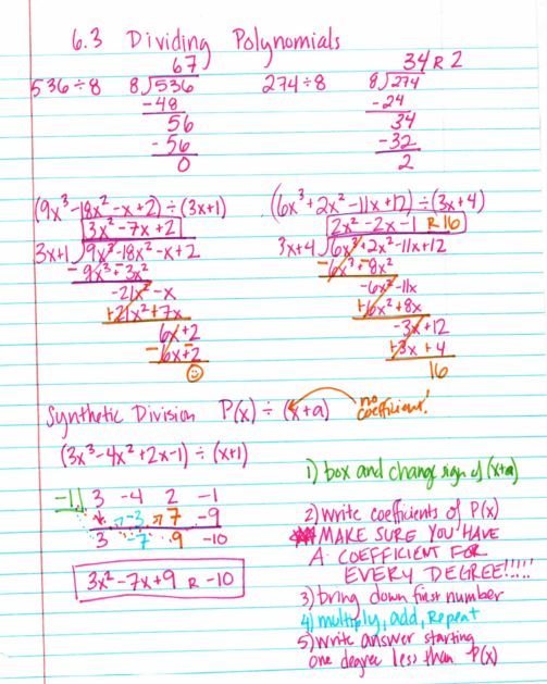 Polynomials Insert Clever Math Pun Here