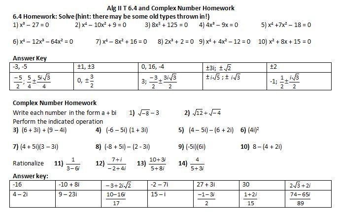 Polynomial files from megcraig.org