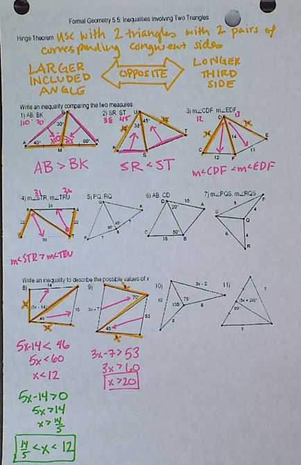 Triangle Files from megcraig.org