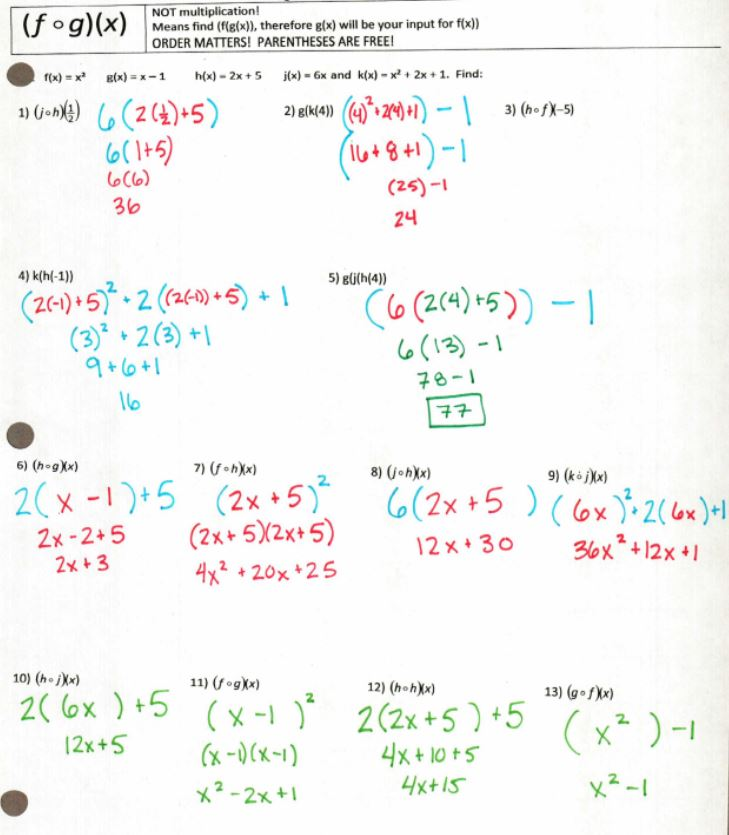power functions answer key 28 images algebra 2 worksheets – Exponential and Logarithmic Functions Worksheets