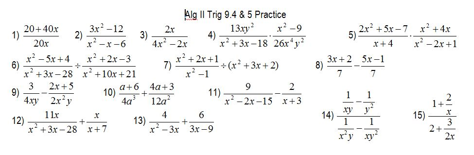 Rational Functions from megcraig.org