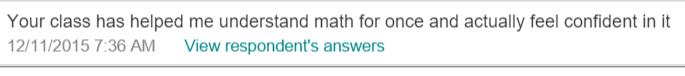 survey response 2