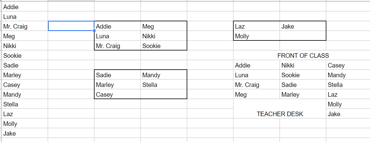 Uh Meg Hate To Point This Out But Those Are In The Same Order As List You Entered Not Very Random